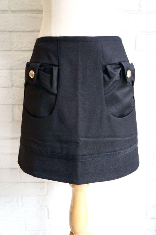 画像1: MIRIAM OCARIZ リボンポケットスカート (1)