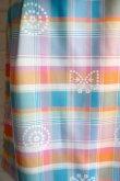 画像2: maiito check × check タイトスカート blue (2)