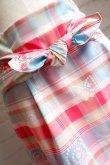 画像3: maiito check × check タイトスカート pink (3)
