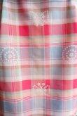 画像2: maiito check × check タイトスカート pink (2)