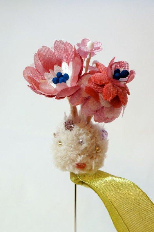 画像1: SOWA 「wonder flower pins」 WINE (1)