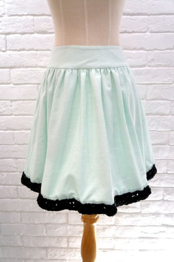 画像1: DAYDREAM NATION mint skirt (1)