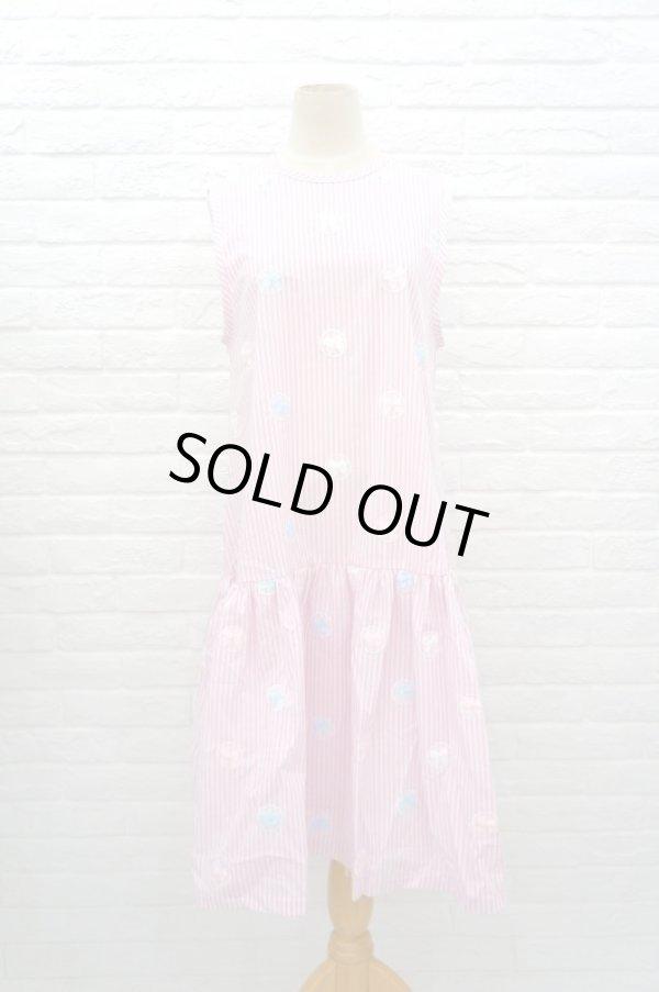 画像1: Jenny Fax (ジェニーファックス) Sunday dress PINK (1)