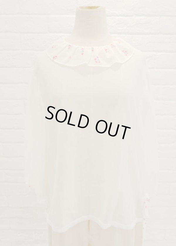 画像1: SOWA limited flomage blouse nagisa white (1)