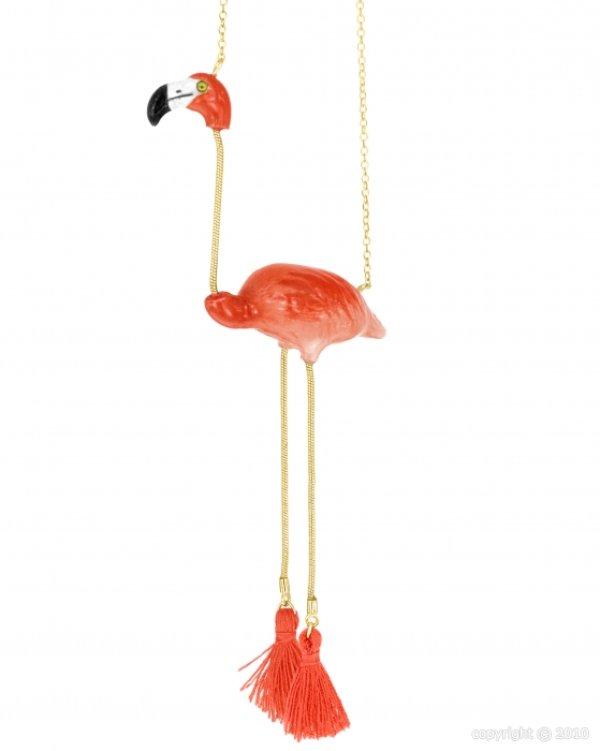 画像1: NACH Flamingo necklace (1)