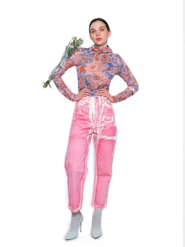 画像1: ANNTIAN(アンティアン)  Ordinary Womens Pant  pink  (1)
