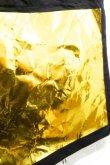 画像2: STARSTYLING BIG SQUARE TOTE  black gold <通常配送> (2)