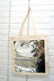 画像1: STARSTYLING BIG SQUARE TOTE  natural  silver  <通常配送> (1)