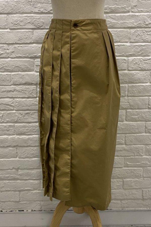 画像1: SUPP サイドプリーツスカート (1)