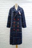 画像1: SOWA  (ソーワ) coat  blue (1)