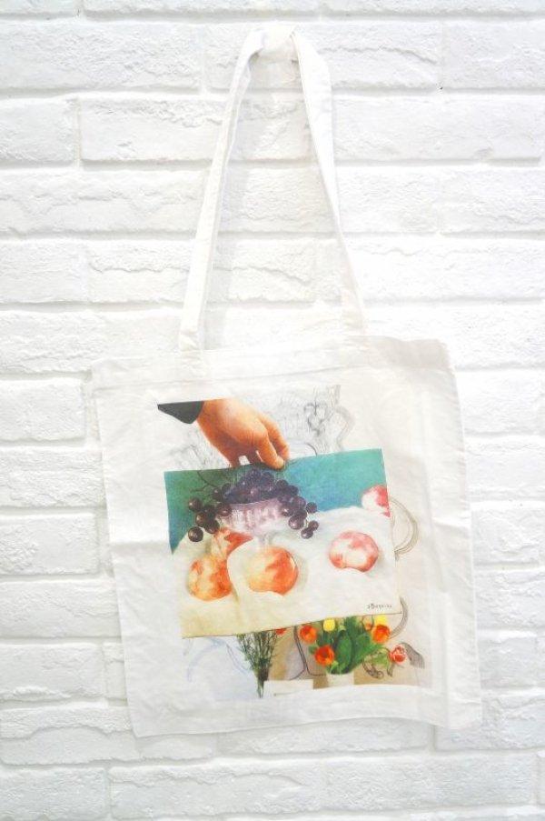画像1: TATA CHRISTIANE PAINTING eco bag (1)
