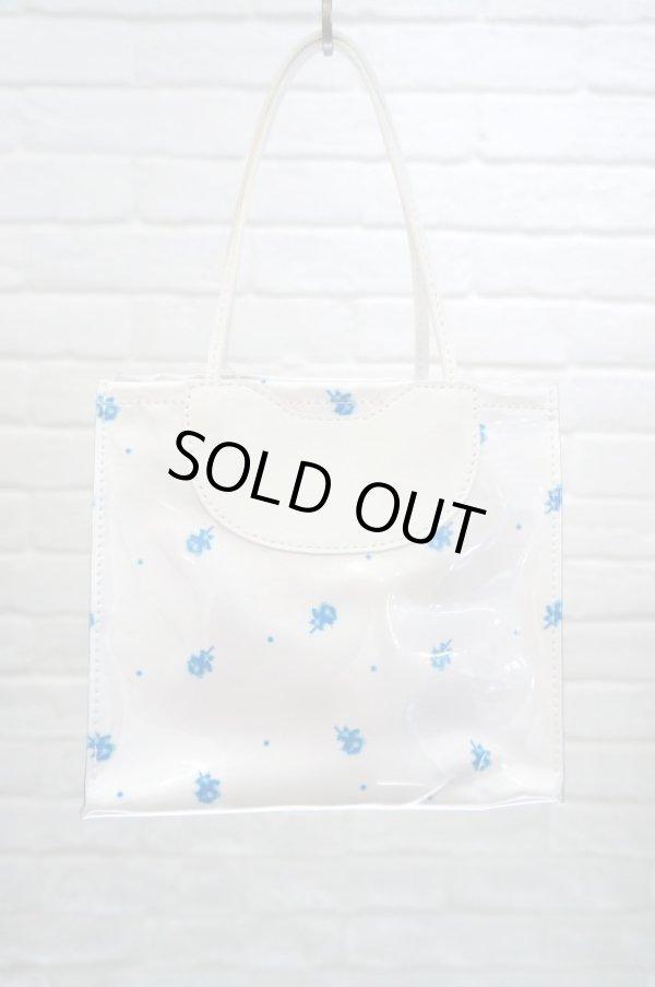 画像1: DECO depuis 1985 (デコ ドゥピュイイチキューハチゴー) chiyogmi PVC bag blue (1)