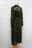 画像3: LOKITHO (ロキト) EMBROIDERY FLARED DRESS ミモザ 刺繍ワンピース  yellow (3)