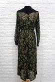画像4: LOKITHO (ロキト) EMBROIDERY FLARED DRESS ミモザ 刺繍ワンピース  yellow (4)