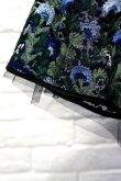 画像6: チュール刺繍ワンピース FLOWER EMBROIDERY DRESS blue (6)