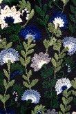 画像9: チュール刺繍ワンピース FLOWER EMBROIDERY DRESS blue (9)