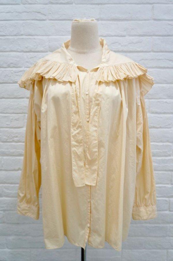 画像1: STASTNY SU bretagne blouse beige (1)
