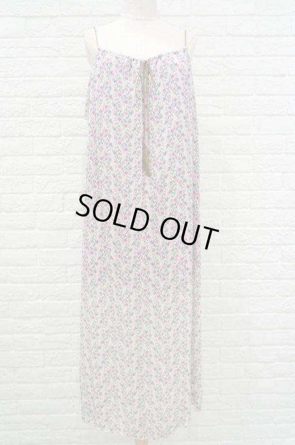 画像1: sowa  (ソーワ) silk maxi dress pink (1)